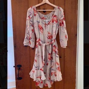 Vintage DVF 100% Silk Dress Set